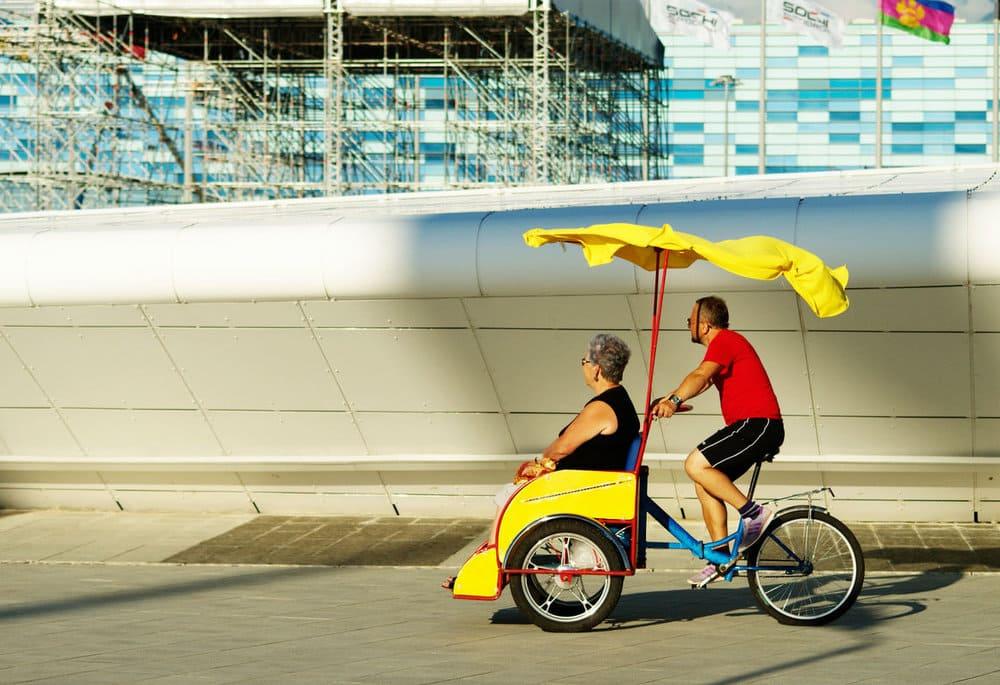 Картинки с велорикшей