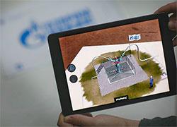 Маркетинговый ход. Идея №5496. Музейная AR-инсталляция покажет внутреннее устройство Газпрома