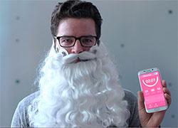 Бизнес-идея №5591. Носимый девайс «Борода Деда Мороза» – профилактика «депрессии рождественских каникул»