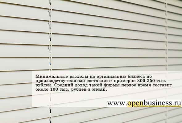 Бизнес идеи по производству жалюзи роллеты заработать в интернете 5000 рублей в день