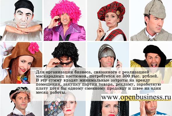 Бизнес план костюмы создание бизнеса плана