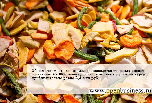 Бизнес идеии переработка овощей идеи для бизнеса от балашова