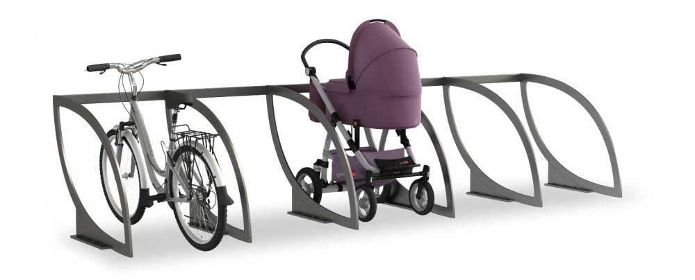Парковка для детских колясок в многоквартирном доме