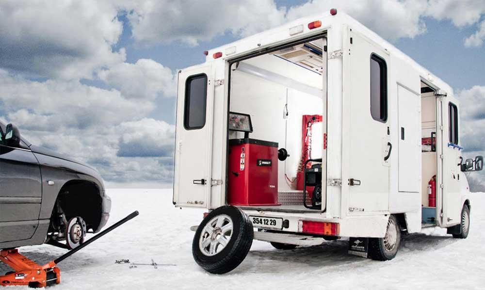 Небольшой бизнес с небольшим грузовичком