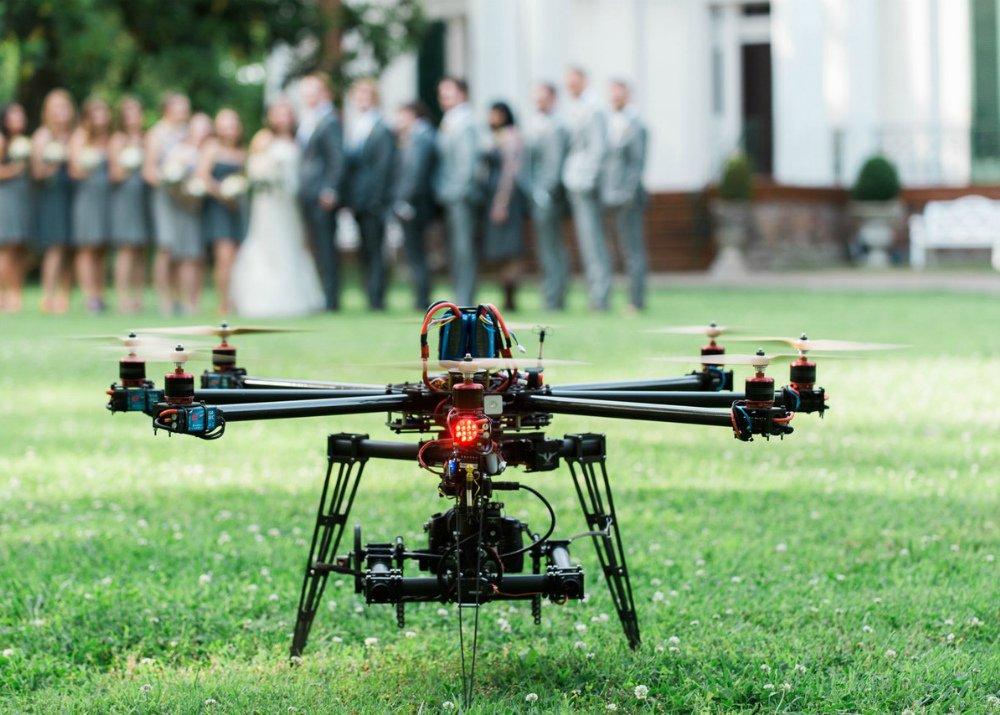 Аэросъемка с дрона