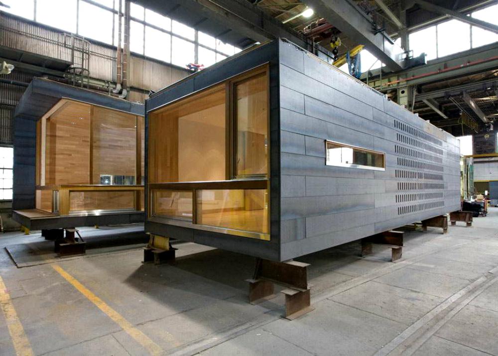 Производство каркасно-модульных зданий