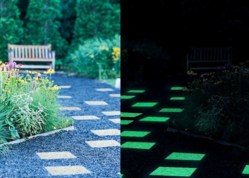 Производство светящейся тротуарной плитки