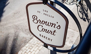Символика пекарни Brown's Court, Чарльстон