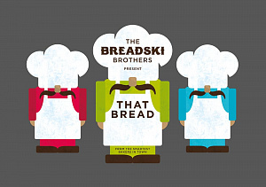 Упаковка That Bread от Breadski Brothers.  Дизайн True Story