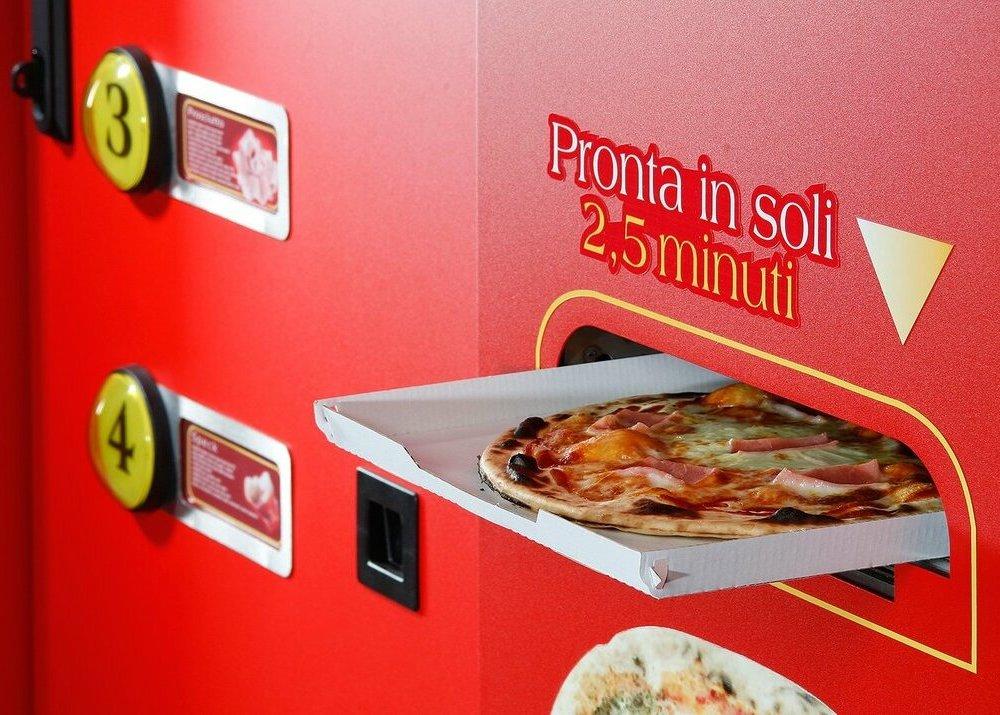 Пицца, которая готовится сама: как заработать на пиццематах