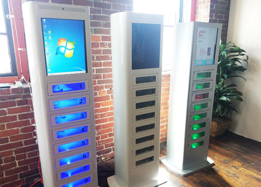 Свой бизнес: автоматы для зарядки гаджетов