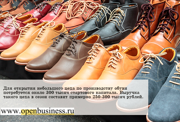 Производство обуви