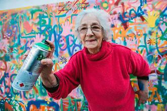 Бизнес-идея №5828. Курсы граффити для пожилых
